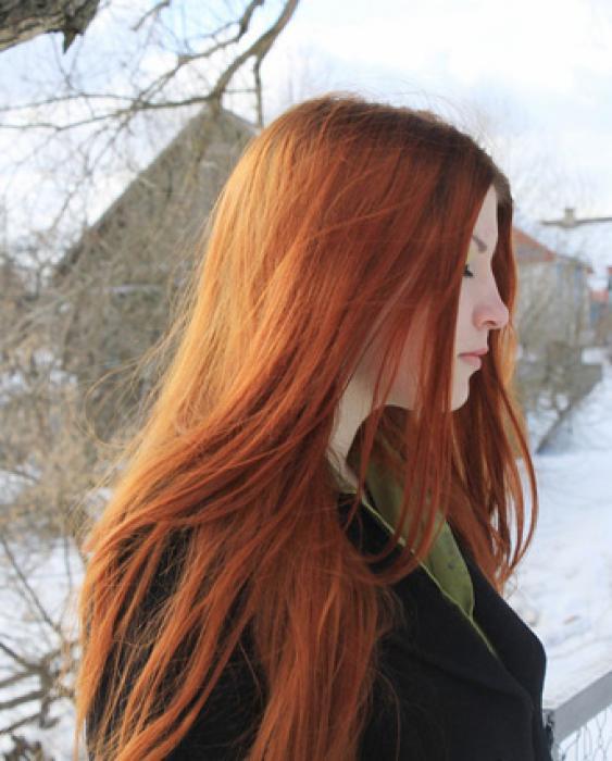 Как из рыжего сделать нужный цвет на волосах