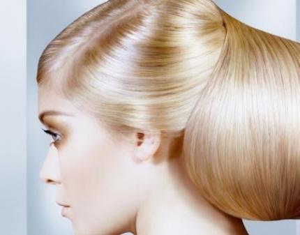 Лейбл ламинирование волос
