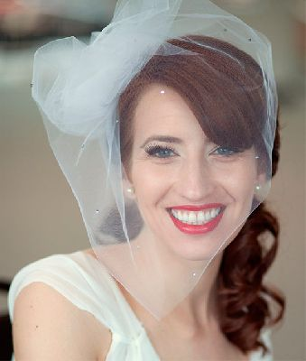 Свадебная прическа с вуалью